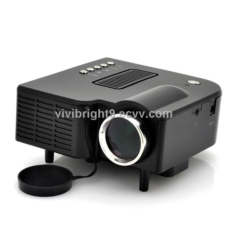 Vivibright projector gp5s cheap mini led portable for Cheap mini portable projector