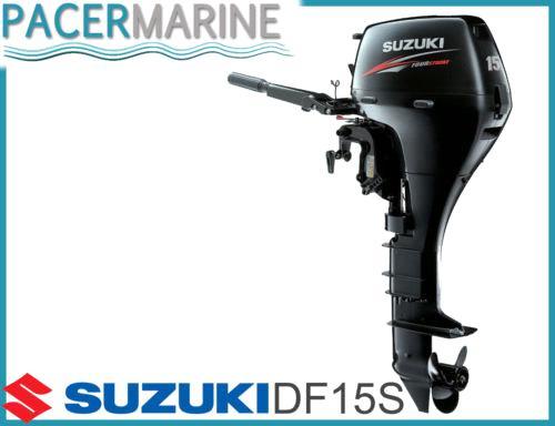 Suzuki Df 15 Hp Four Stroke Outboard Engine Boat Motor