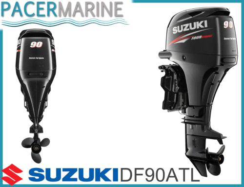 Suzuki df 90 hp four stroke outboard engine boat motor for 90 hp outboard motor prices
