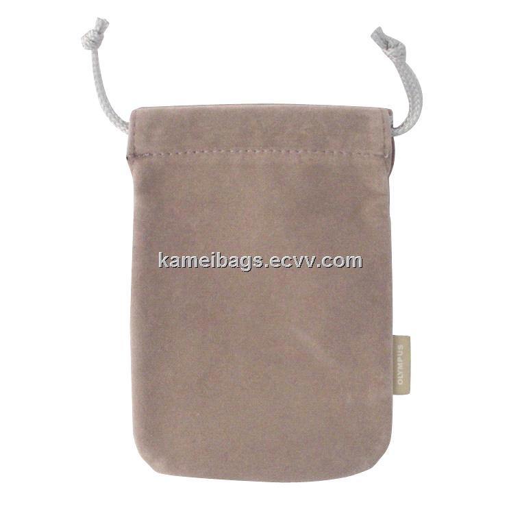 Velvet bag km veb camera gift drawstring