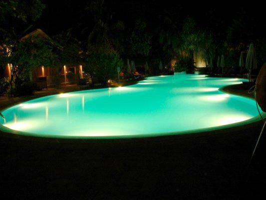 18w tricolor led swimming pool light led underwater. Black Bedroom Furniture Sets. Home Design Ideas