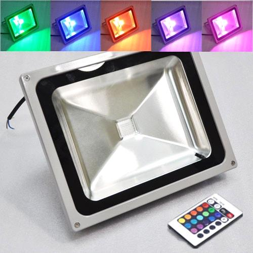50 watt rgb color changing led flood light outdoor using waterproof 50 watt rgb color changing led flood light outdoor using waterproof ip65 mozeypictures Image collections