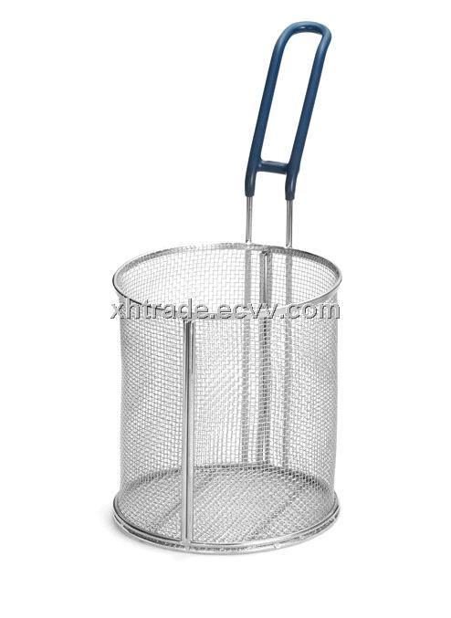 Pasta Basket Round Stainless Steel Basket Strainer