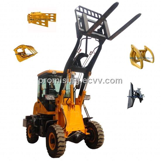 Front Loader With Tools Attachments – tracktor