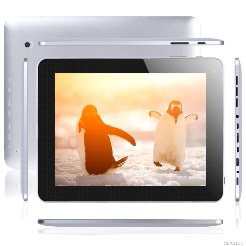 inch HD Tablet PC EF17-1: Android 4.1 RK3066 Dual Core 1.5GHz DDR