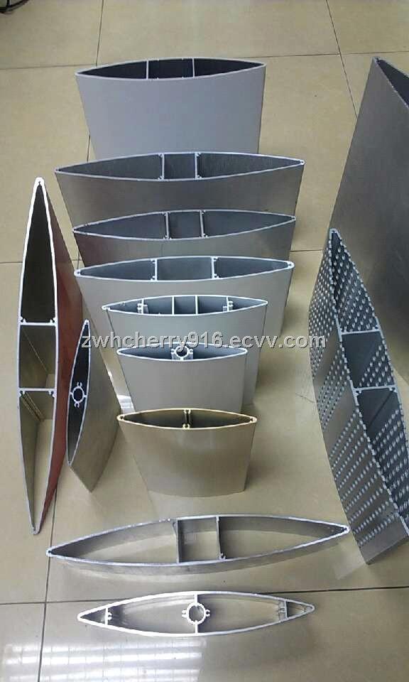 Aerofoil Aluminium Louver Profiles For Sun Louver