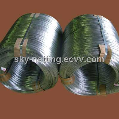Black Hard Drawn Wire 2mm Diameter Plastic Bag Inside and Woven Bag Outside