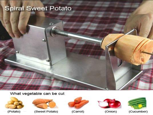 potato twisters machine