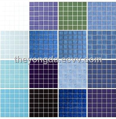Ceramic mosaic swimming pools tiles purchasing souring for Swimming pool ceramic tile