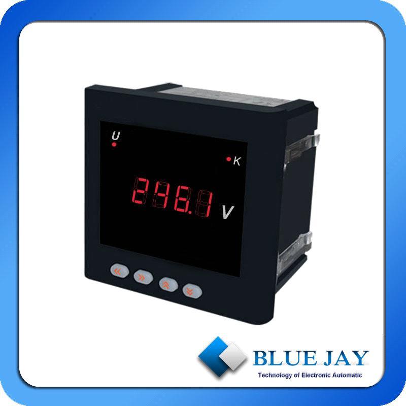 Single Phase Led : Digital single phase current meter ac ammeter led