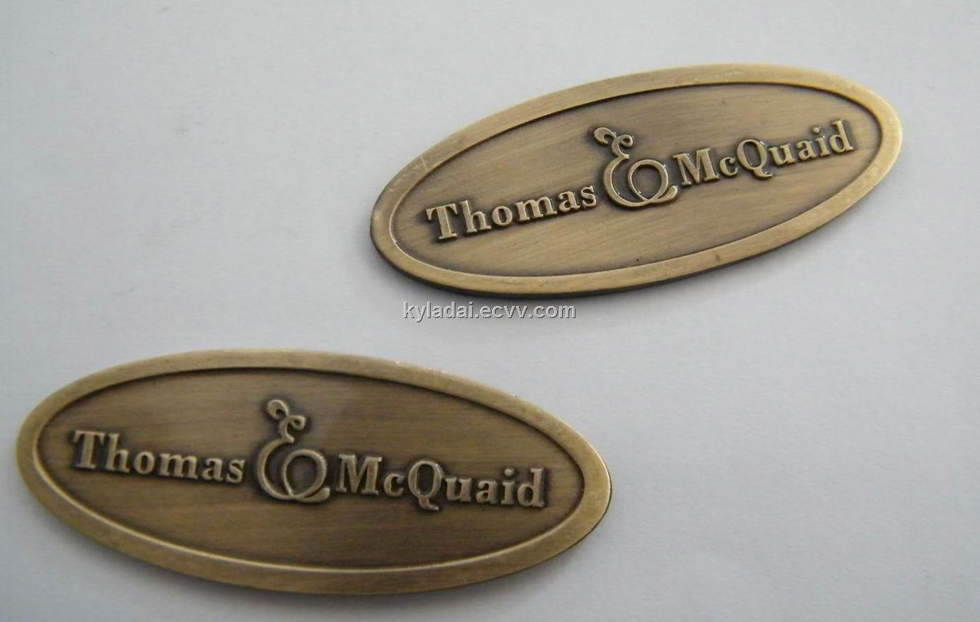 Metal Name Plates For Furniture In Addition Metal Furniture Tags
