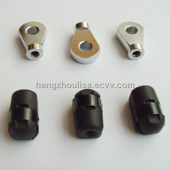 Gas Strut Eye End Fitting With Black Zinc Plated