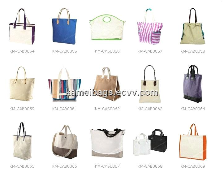 Canvas Handbag (KM-CAB0019), Canvas/Cotton Bag, Canvas Tote Bag ...
