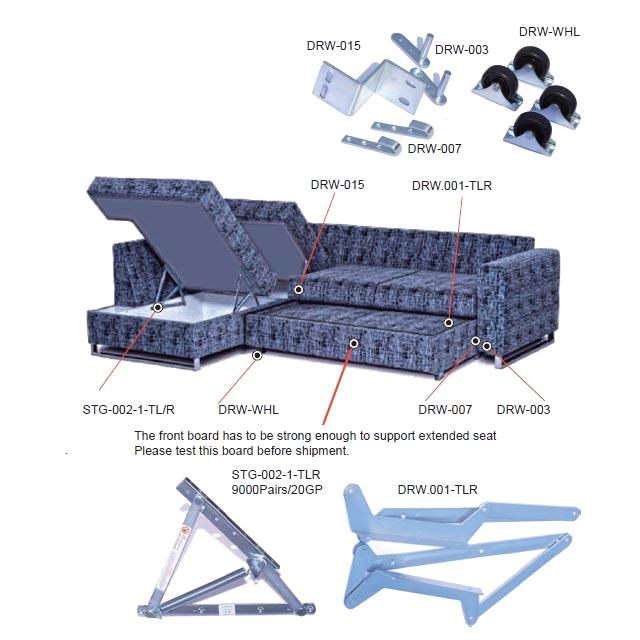 Draw Out Sofa Bed Mechanism Drw00 Purchasing Souring