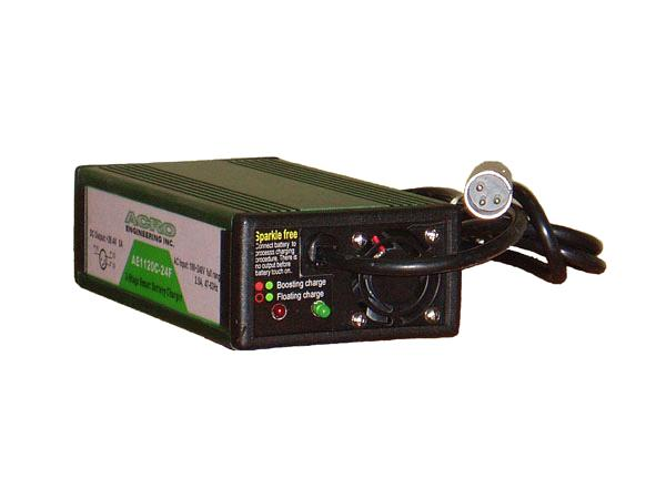 Lead Acid Battery Charger 300w Single Output 3 Stage