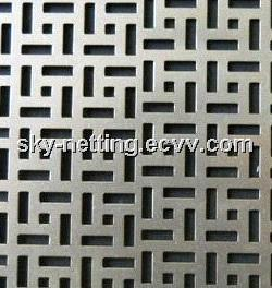 Perforated Metal/ Sheet Punching Plate (Electro Galvanized/Hot-dipped Galvanized
