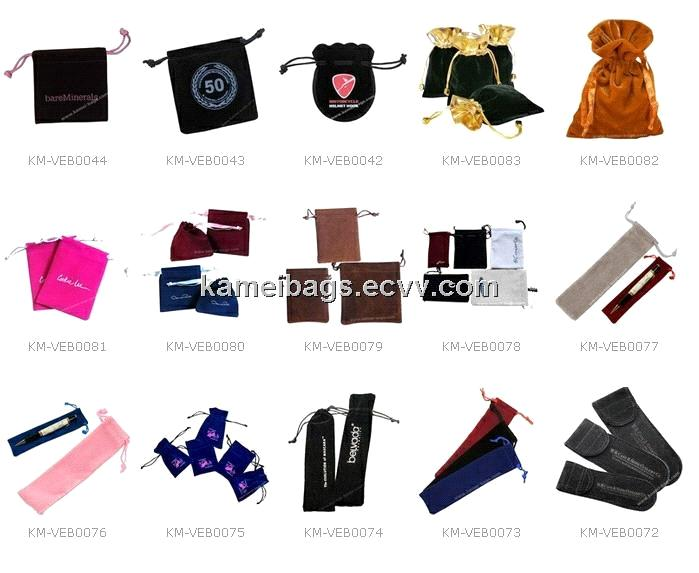 Velvet Bag(KM-VEB0038), Drawstring Bag, Gift Bag, Velour Bags ...
