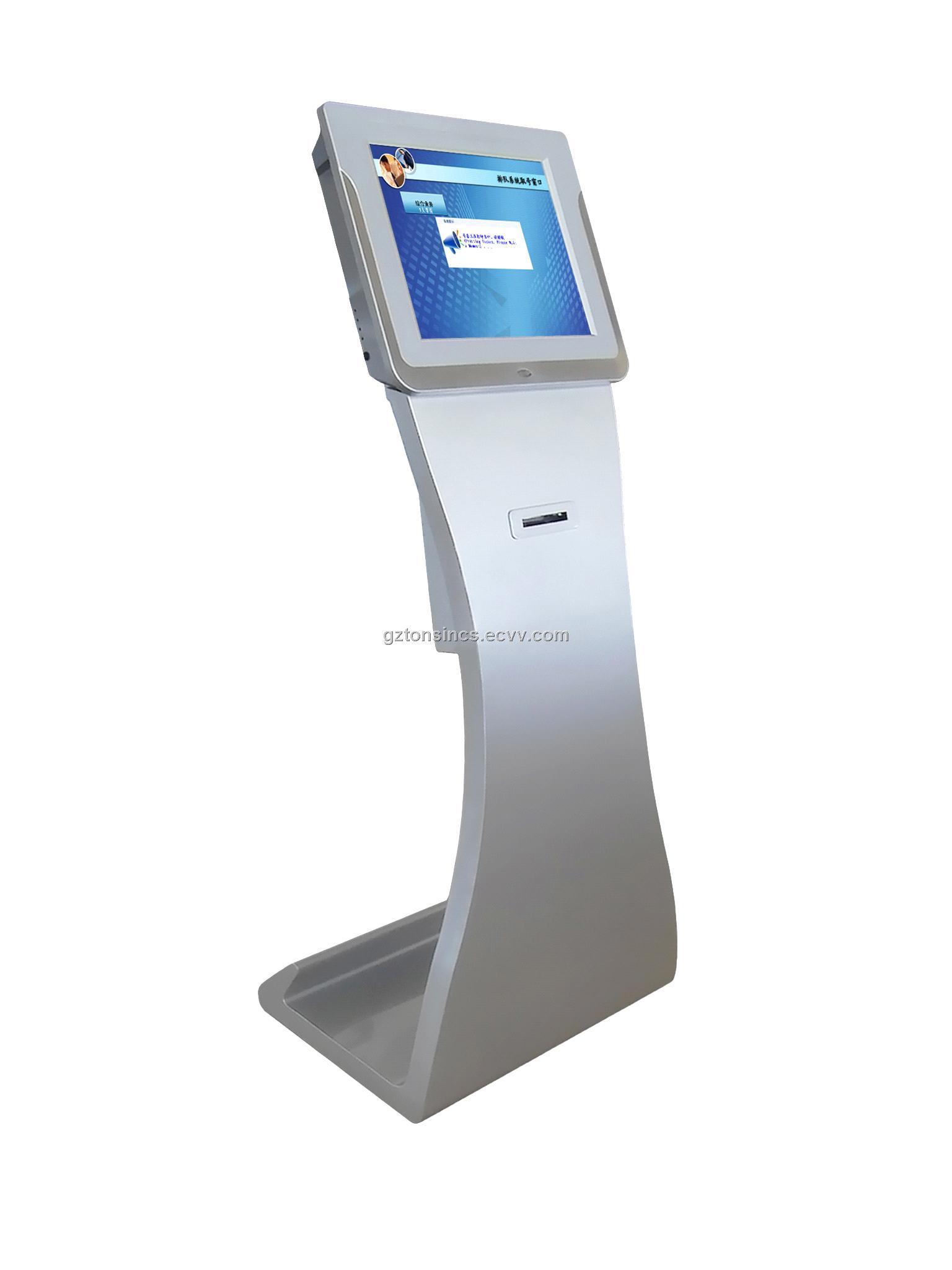 17 quot queue management system touch token ticket kiosk ky115a china queue management system q