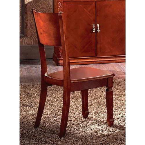 Antique style rubber wood dining chairs b40 b40 china solid wood