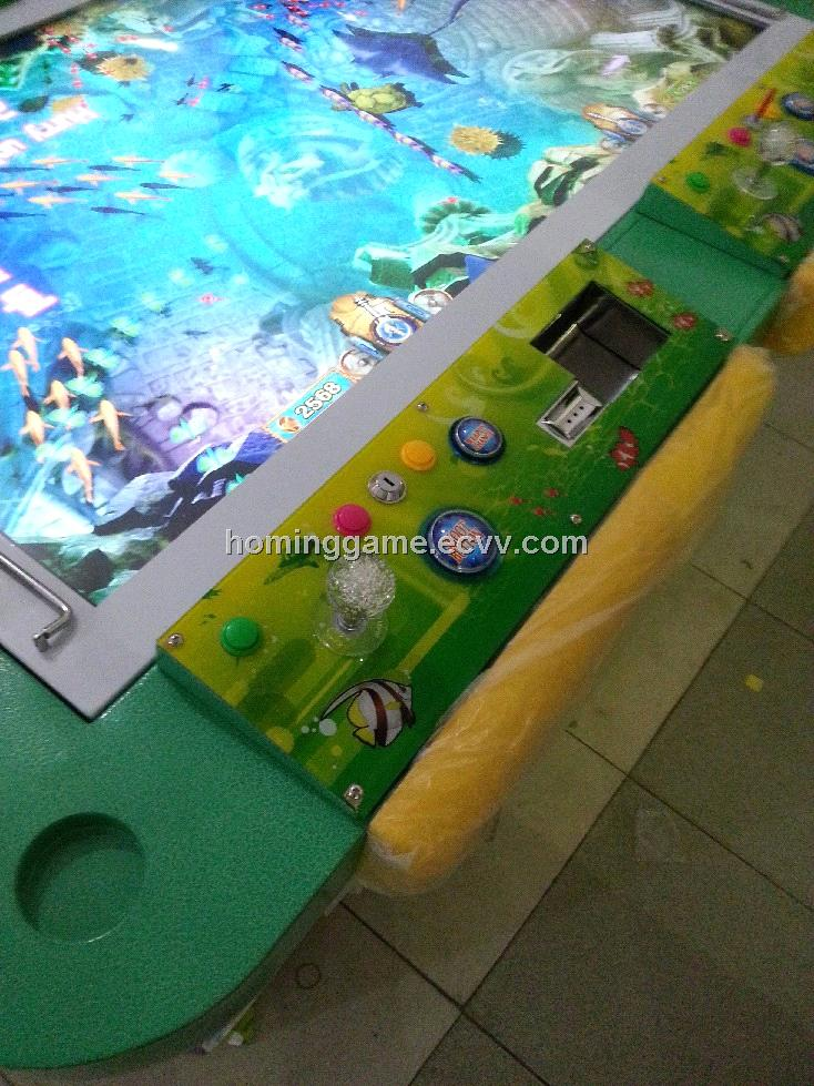 Fish video table arcade game hominggame com 375 for How to play fish table game