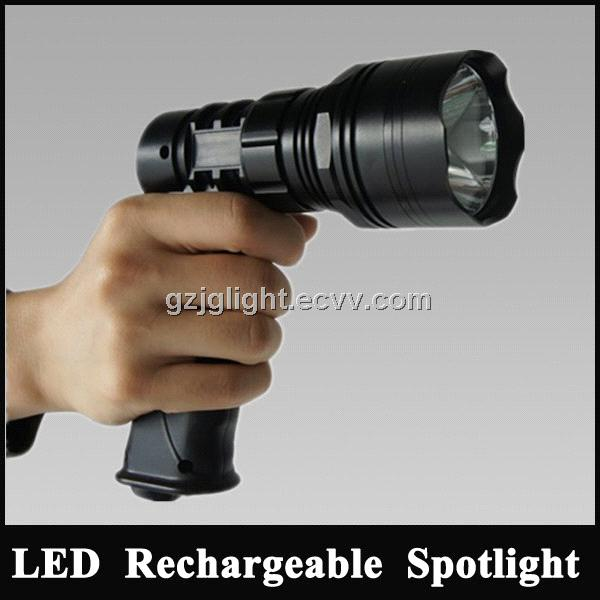 Hunting Spotlight Kit 10w Cree Led Torch Rechargeable