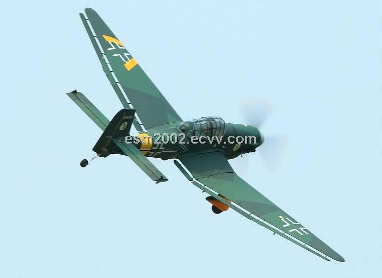 RC Model plane JU87D Stuka