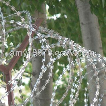 Razor Wire For Security Use Electric Galvanized Hot