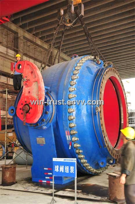 Ball Valve for Hydro Power Plant DN50-DN6000mm