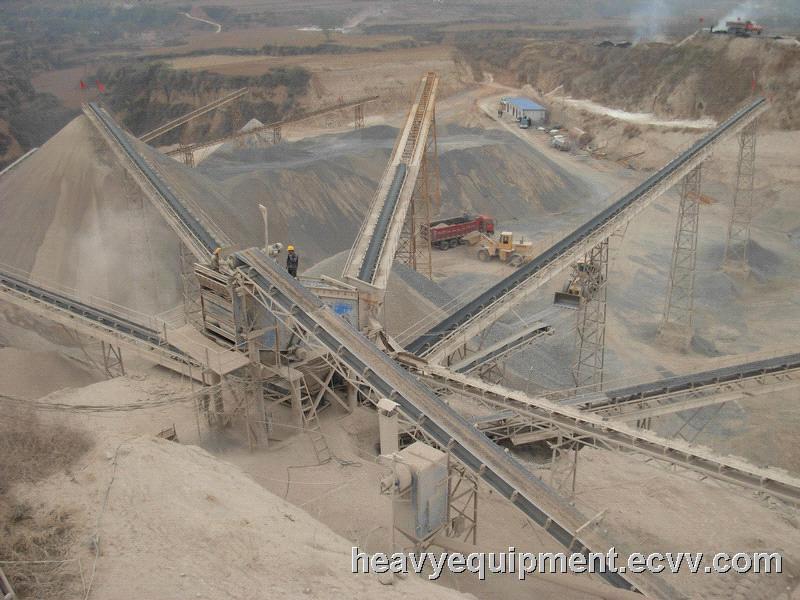 Limestone Crushing Plant : Caco calcium carbonate stone crushing production line