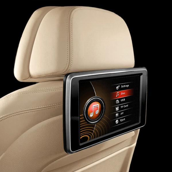 Dvd player for backseat of car