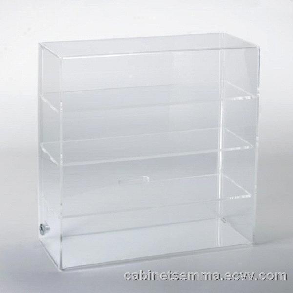 Acrylic Lockable Countertop Display Case Purchasing