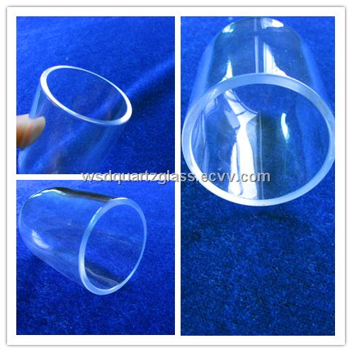 One End Quartz Tube for UVC Disinfection Lamp