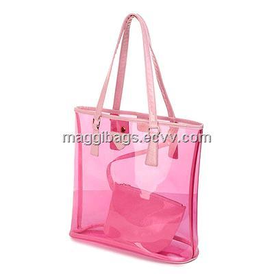 Прозрачный пластика для сумки