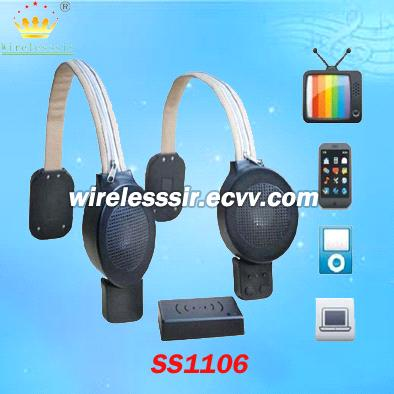 Wireless TV Speaker for Lift Chair/Sofa/Bed/Couch, Stereo Sound for Assistive Listening to Deafness
