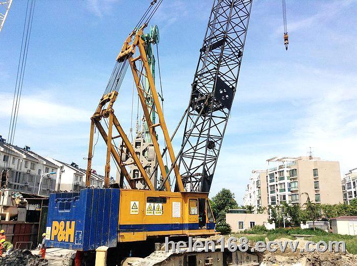 Used Crawler Crane P&H 5170 150ton Used Crane