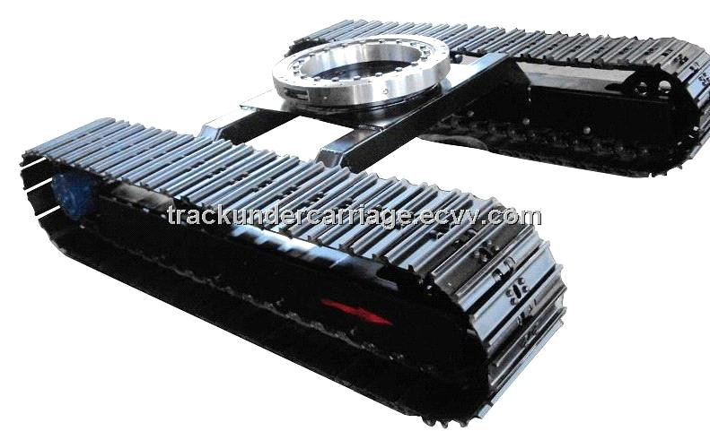 10 Ton Steel Track Undercarriage With Swivel Joint