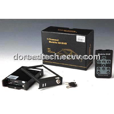 Professional 1 channel sd card car dvr 1ch mobile sd dvr 1ch car