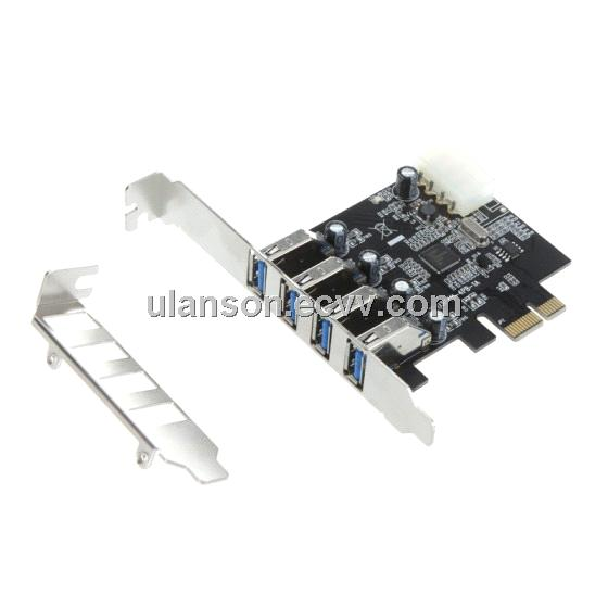 4 Port Usb 3 0 Pci e Card 4 Port Superspeed Usb 3 0 Pci