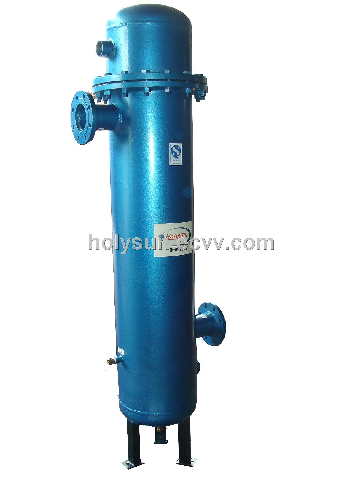 High efficiency Compressed Air Cooler (Water cooling) (HSD W) China  #1D8CAE