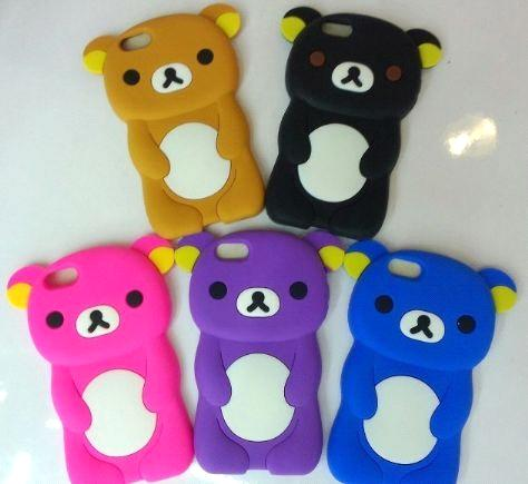 Lovely Animal Shaped Silicone Phone Cover Cellphone Case