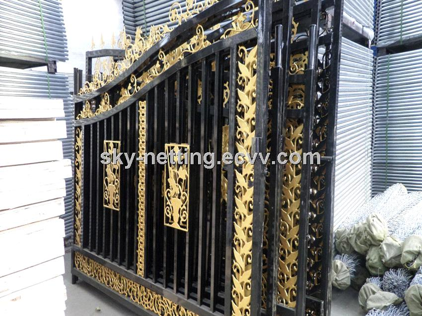 Beautiful Residential Wrought Iron Gate Designs Models