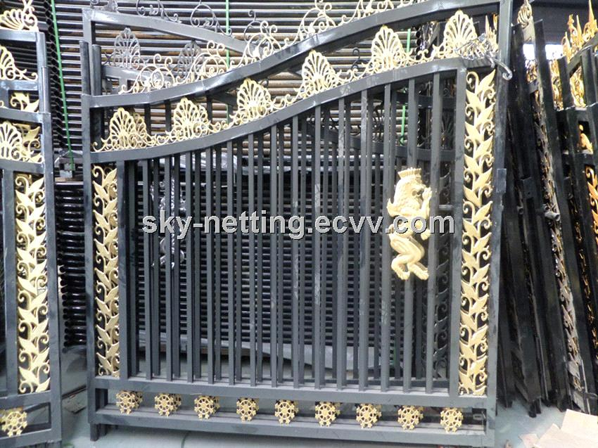 Beautiful Residential Wrought Iron Gate Designs/Models House Gate  Purchasing, Souring Agent | ECVV.com Purchasing Service Platform