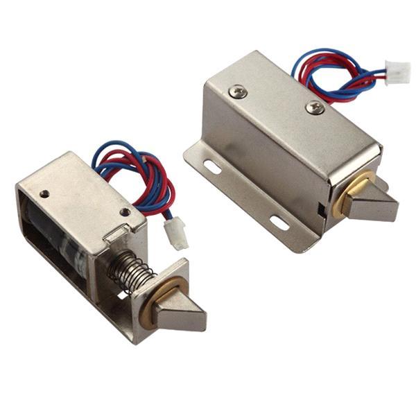 12v 24v Dc Solenoid Lock For Door Lock With Bolt