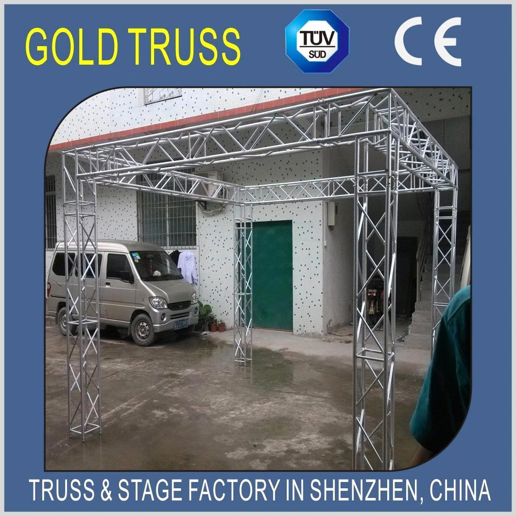 Exhibition Stand Builders China : Aluminum spigot truss exhibition disply