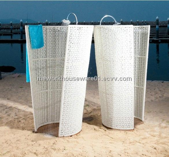 Outdoor Rattan Shower Screen Purchasing Souring Agent