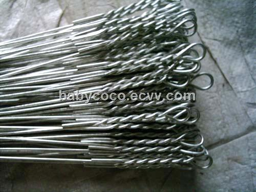 Single Loop Wire : Single loop tie wire for catton banding purchasing