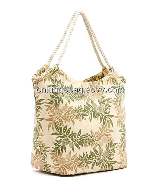Fashion Canvas Ladies Tote Bag, Leisure Canvas Shoulder Bag for ...