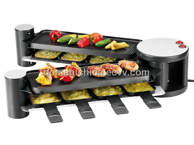 new unfoldable swiss raclette grill drg 058 a purchasing souring agent purchasing. Black Bedroom Furniture Sets. Home Design Ideas