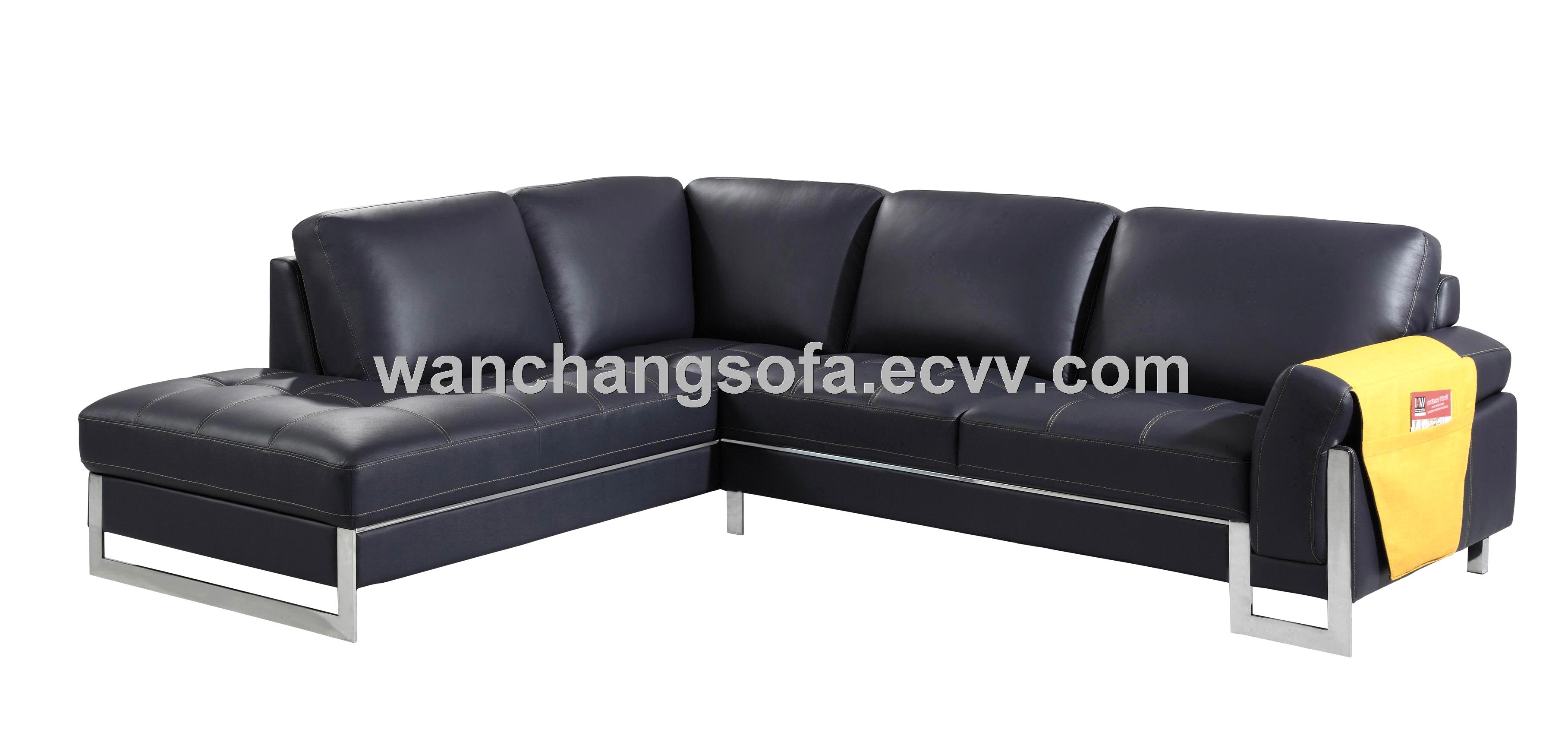 Dark blue leather sectional sofa set purchasing, souring agent : ECVV.com purchasing service ...