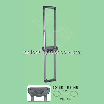 New fashion design Guangzhou Jingxiang Telescopic trolley handle, luggage parts, bag parts